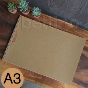 sổ calligraphy pad a3